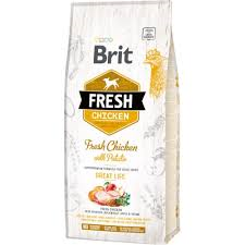 BRIT FRESH CHICKEN WITH POTATO for Adults Image