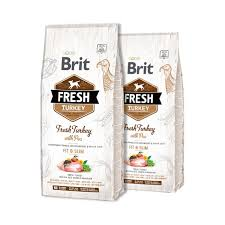 BRIT FRESH TURKEY WITH PEA for Adults all breed Image
