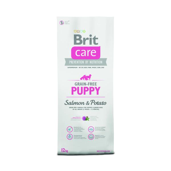 Brit care puppy gf salmon & potato – Brit care Image