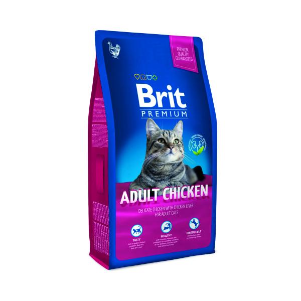 Brit premium cat adult chicken – Brit premium Image