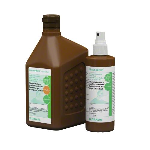 BRAUNODERM - soluzione alcolica 1% Image