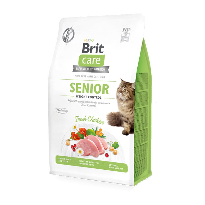 BRIT CARE CAT SENIOR WEIGHT CONTROL Image